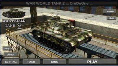 Game perang tank Multiplayer Android via Bluetooth