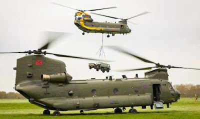 Chinook Helicopters Inducted in Indian Air Force