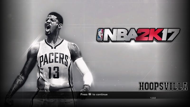 NBA 2k17 Paul George Title Screen Mod for NBA 2k14