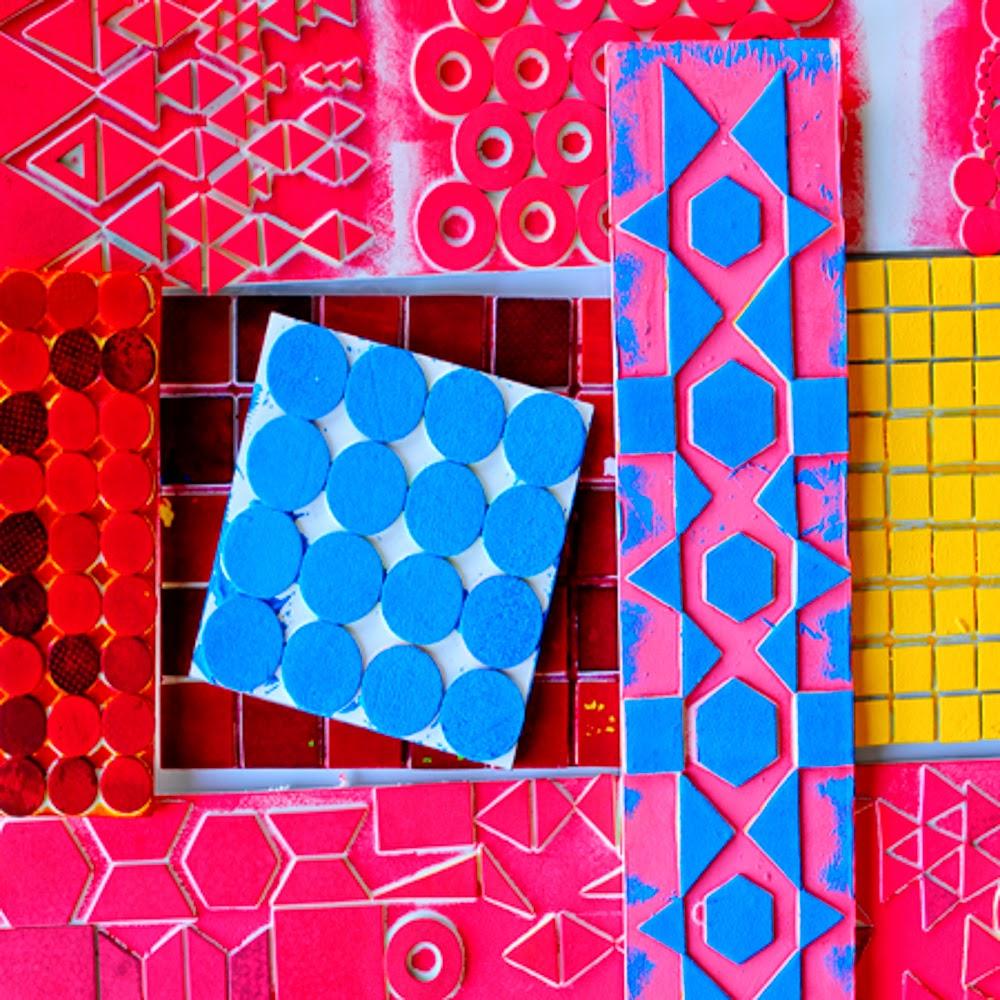 Craft Foam Block Printing Crafting