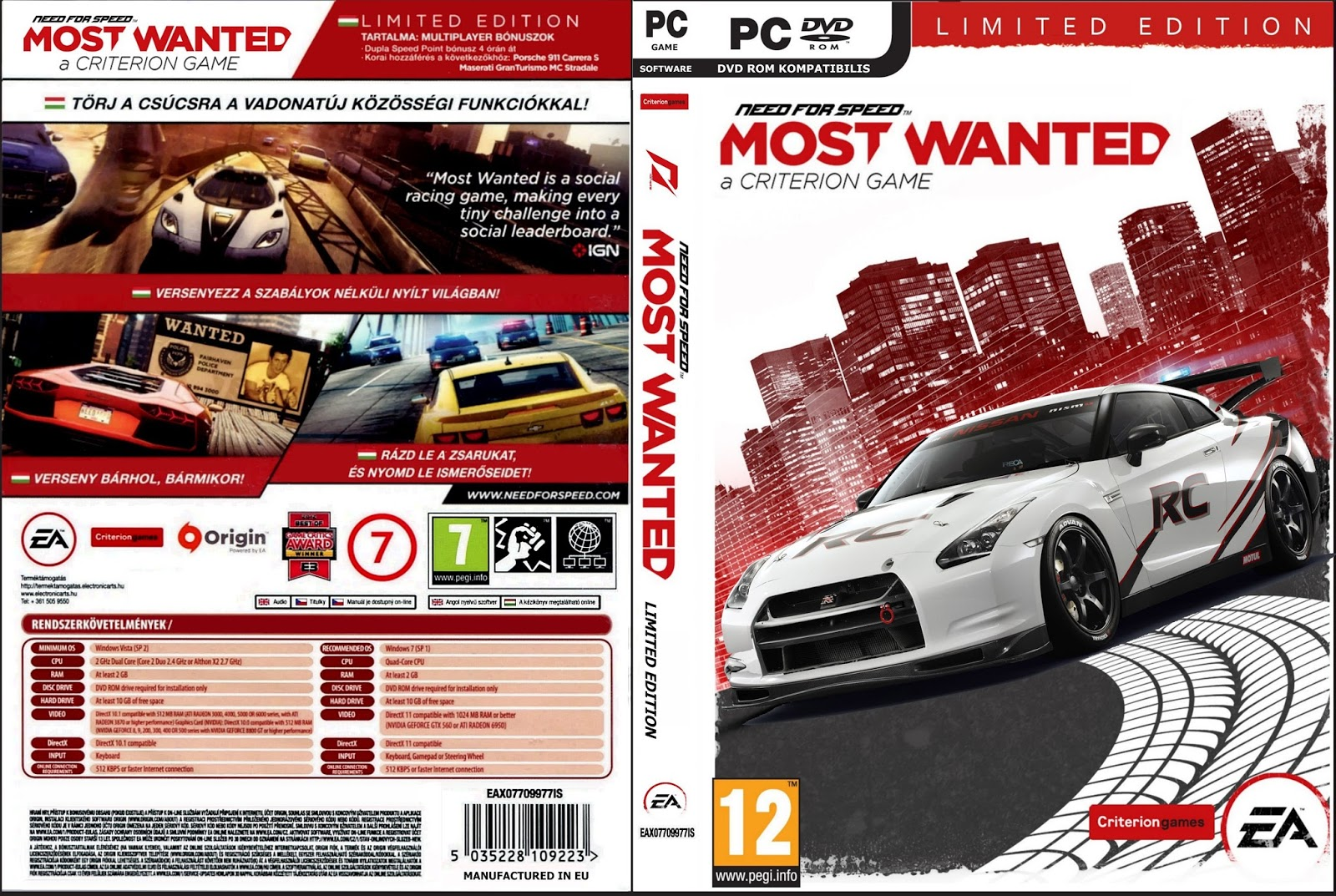 Torrent World: Need For Speed Most Wanted 2012 PC Game