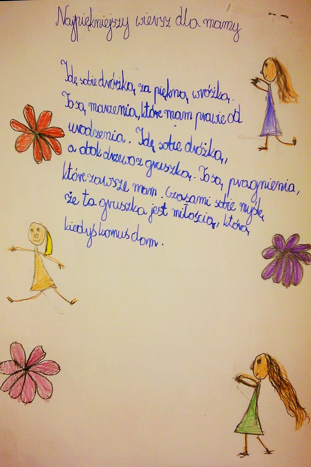 Edu Fun Tv Najpiękniejszy Wiersz Dla Mamy