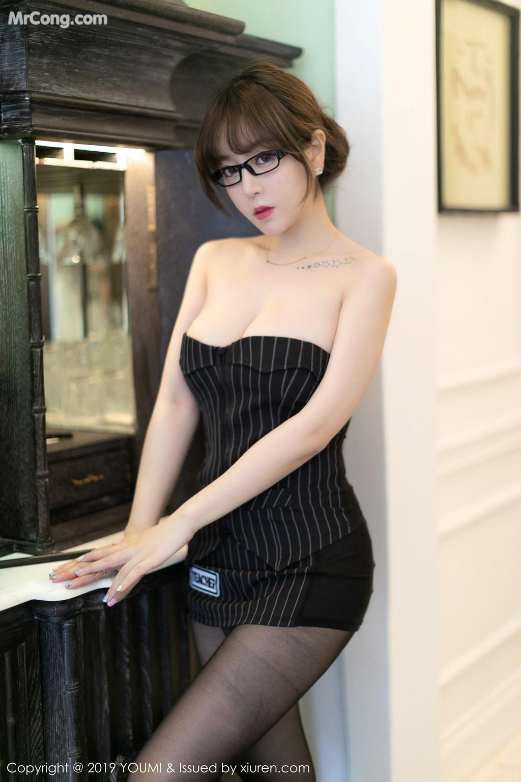 Image YouMi-Vol.307-Wang-Yu-Chun-MrCong.com-003 in post YouMi Vol.307: Wang Yu Chun (王雨纯) (50 ảnh)