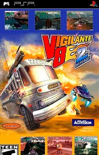 Download Vigilante 8 2nd Offense PSP ISO High Compressed