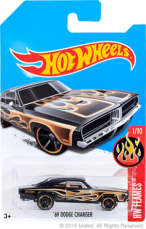 HW 69 Dodge Charger special color Kmart Edition