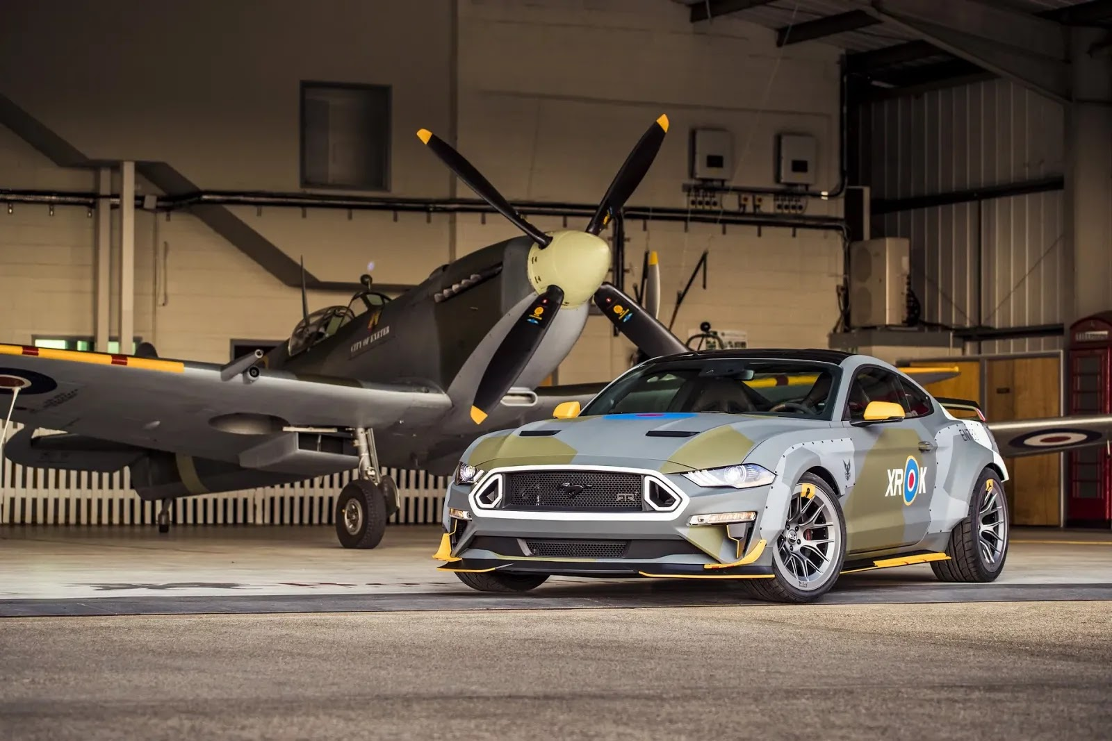 700 Hp Ford Eagle Squadron Mustang Gt Debuts At Goodwood