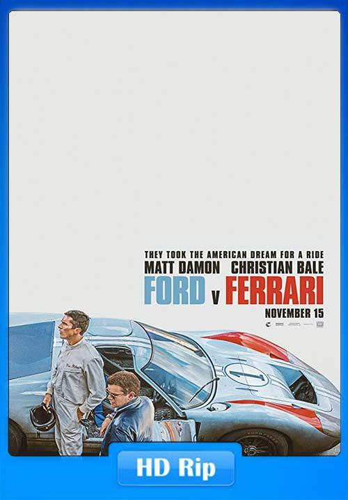 Ford V Ferrari 2019 720p WEBRip x264 | 480p 300MB | 100MB HEVC