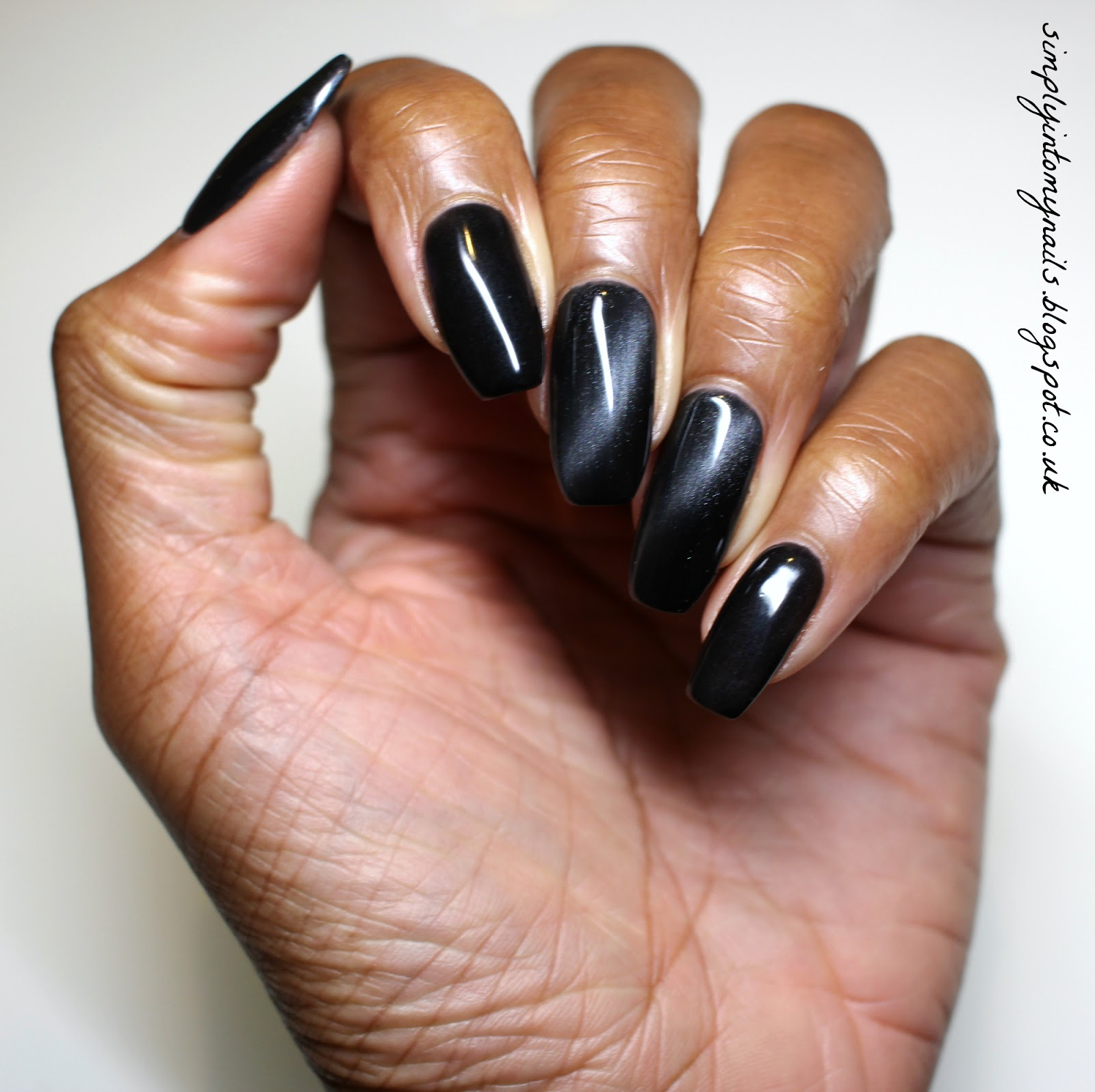 Matte Black Cat Nails | Best Nail Designs 2018