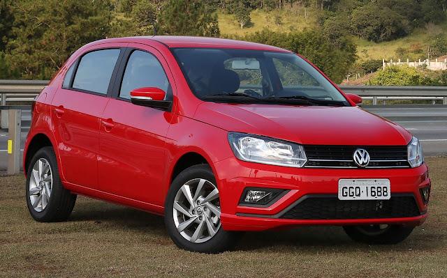 Os carros mais vendidos do Brasil - 1º decêndio - Fev/2019