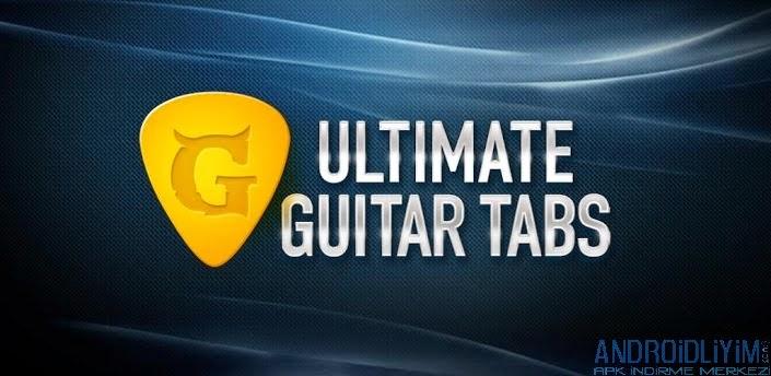 Ultimate Guitar Tabs & Chords Android Gitar Şarkı Akort ve Nota Uygulaması FULL APK İndir - androidliyim