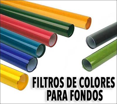 Geles de color para fondos creativos