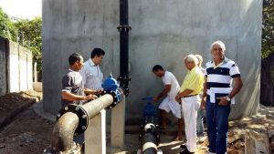 Novo reservatório de água foi entregue nesta terça (30) em Batalha