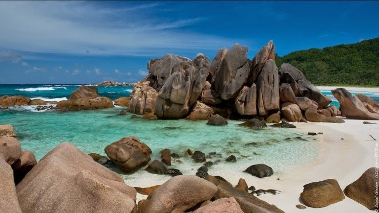 1. Anse Cocos, La Digue, the Seychelles - Top 10 Beaches to Go to in 2015