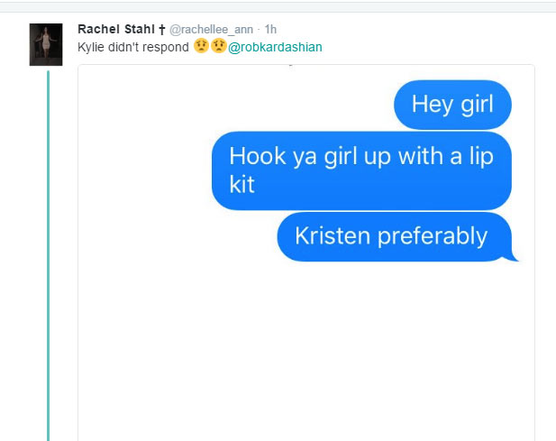 See SMSes sent to Kylie Jenner after Rob Kardashian shared her number on Twitter