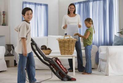 Melakukan Pekerjaan Rumah