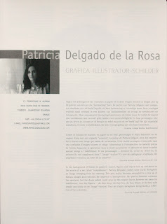 Folleto Van Roey 2010, bio Patricia Delgado
