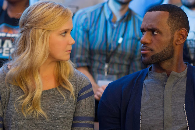 LeBron James and Amy Schumer in Trainwreck