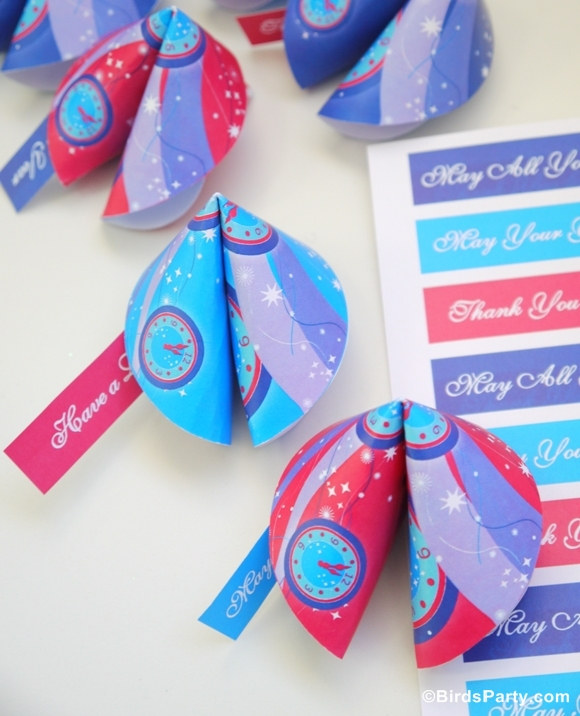 Biscuits de la Fortune DIY en Papier | BirdsParty.fr
