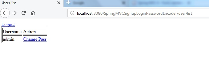Creating a Web Application With Spring 4 MVC Example for User Signup