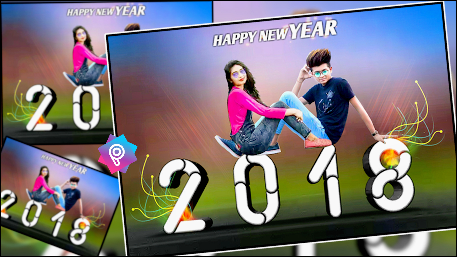 2018 New Picsart Photo Editing Happy New Year Photo Editing With