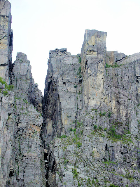 There it is—Pulpit's Rock—2,000 feet into the Norwegian sky.