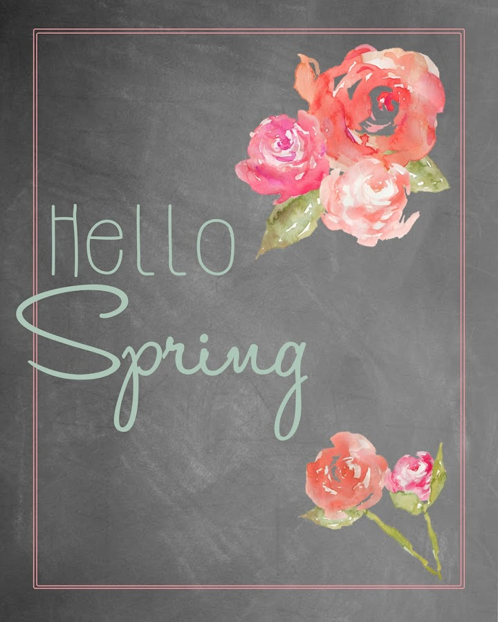 Peony spring printables