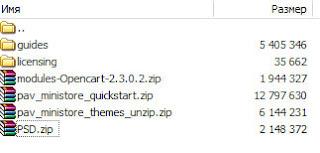 Бесплатные шаблоны  Opencart PavoThemes