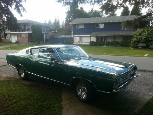 1969 fairlane fastback for sale buy american muscle car for American muscle cars for sale
