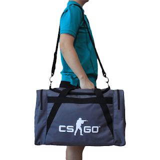 Gaming Bag Tas Duffle CSGO