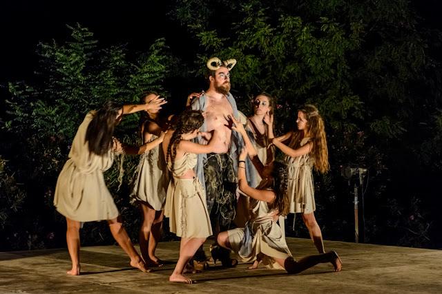 Δρόμοι Πολιτισμού Αργολίδας: Βάκχες - Ίσως το πιο τολμηρό εγχείρημα των φετινών εκδηλώσεων