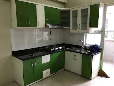 Khu vực bếp căn hộ chung cư CT4B Xa La Hà Đông
