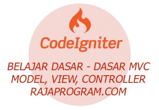 Codeigniter PHP Framework Belajar Dasar Untuk Pemula