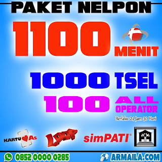 PAKET NELPON 1100 MENIT