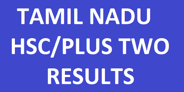TN HSC/Plus Two Result