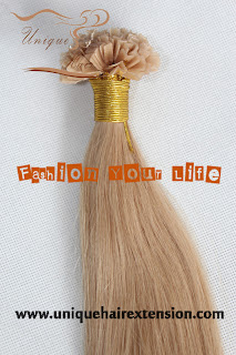 Bonded weft extensions Brazilian hair