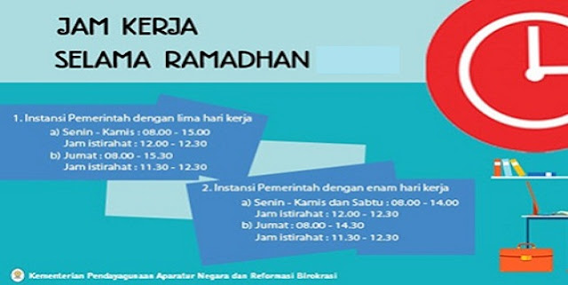 Berikut Jadwal Jam Pelajaran Bulan Ramadhan 2017 Semua Provinsi