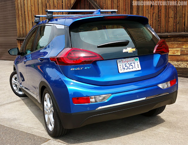 2017 Chevrolet Bolt LT, rear - Subcompact Culture