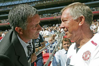 Jose Mourinho wants Sir Alex Ferguson's legacy at Manchester Utd