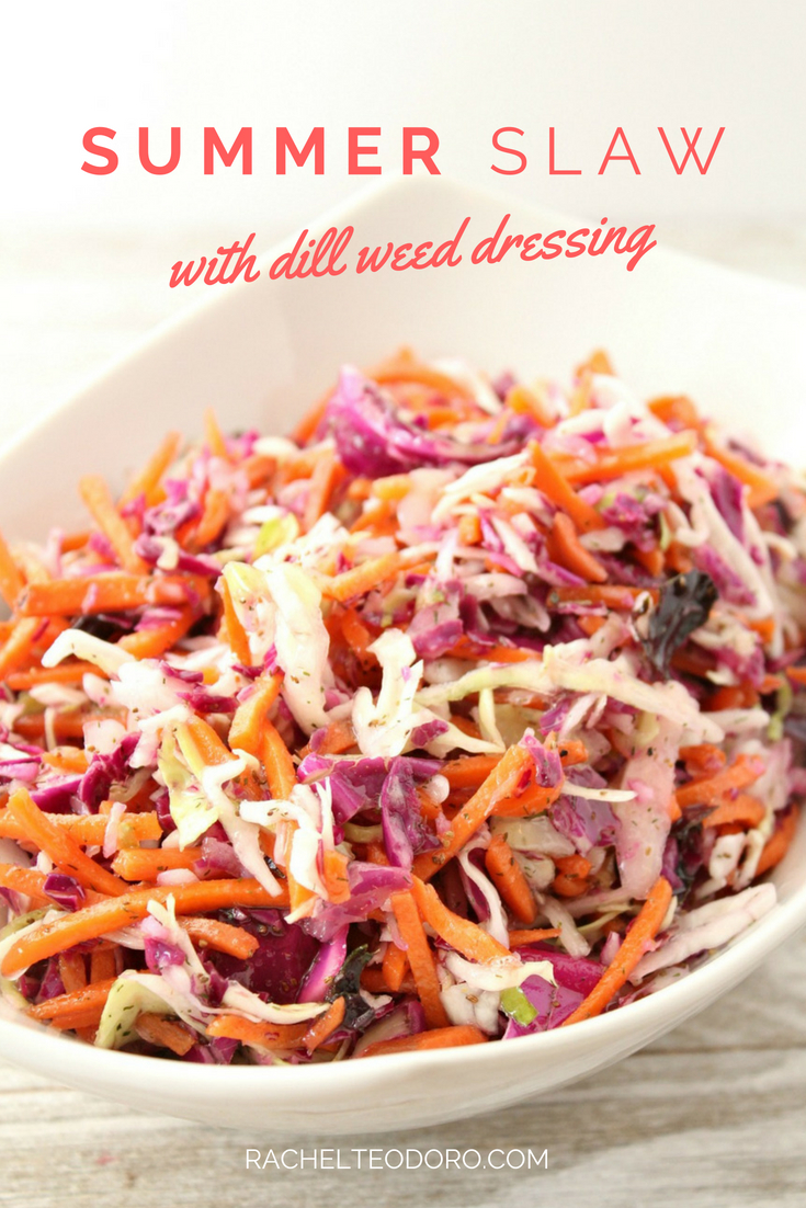 coleslaw for a picnic recipe