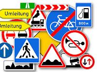 Дорожные знаки Германии - Verkehrszeichen in Deutschland