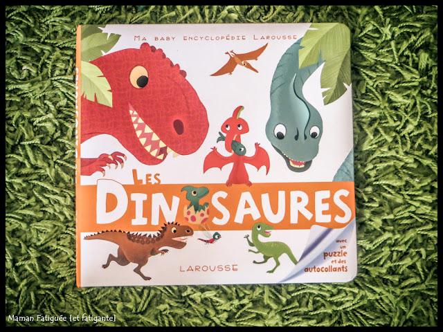 baby encyclopédie dinosaures