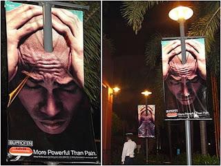 Publicidad y dolor de cabeza