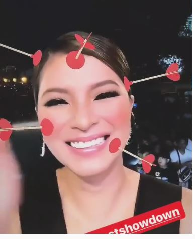Angel Locsin Trying Out Snapchat Filters
