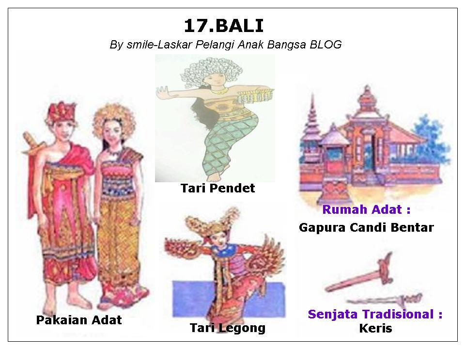 Pakaian Rumah Adattaraian Serta Peta 34 Propinsi Di Indonesia Sd