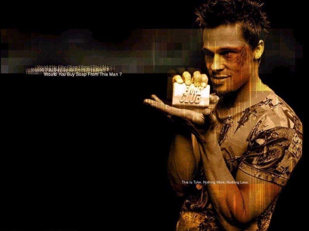 Brad Pitt Fight Club W...