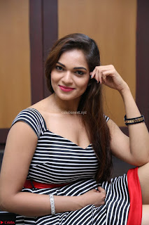Ashwini in Spicy Short Deep Neck Dress at Pelliki Mundu Prema Katha Trailer Launch Exclusive  03.JPG