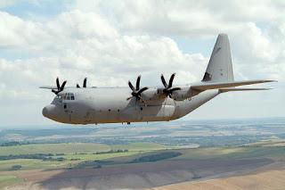 Pesawat Angkut C-130J AU Inggris