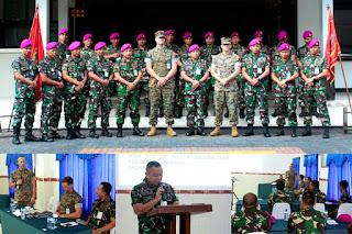 Marinir TNI AL Indonesia dan Marinir AS (USMC)