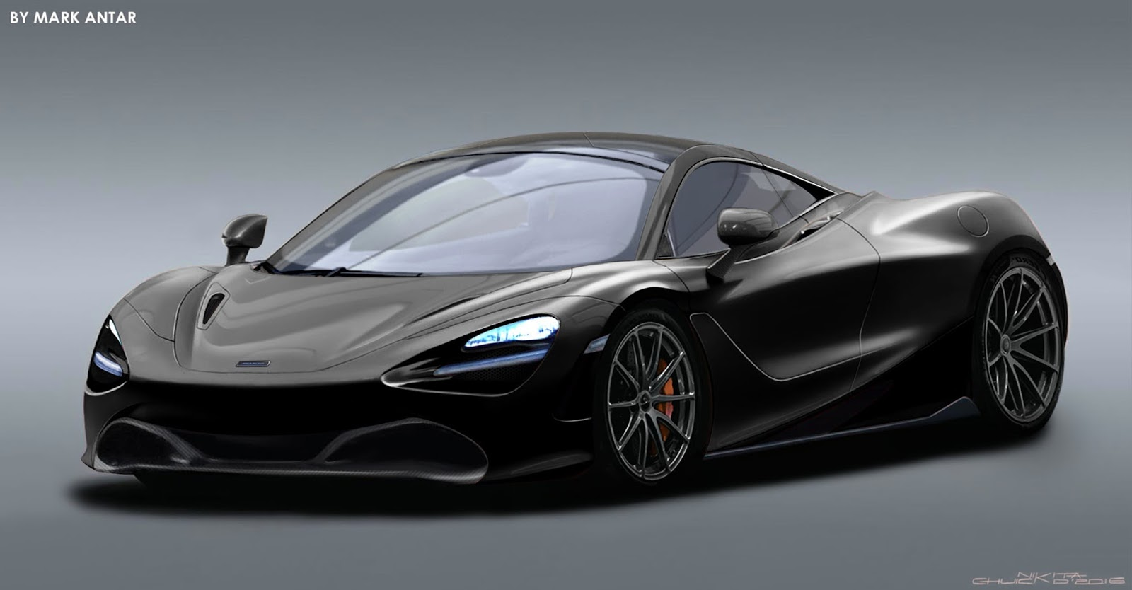 If The Mclaren 720s Looks Like This One Can Assume It Is A