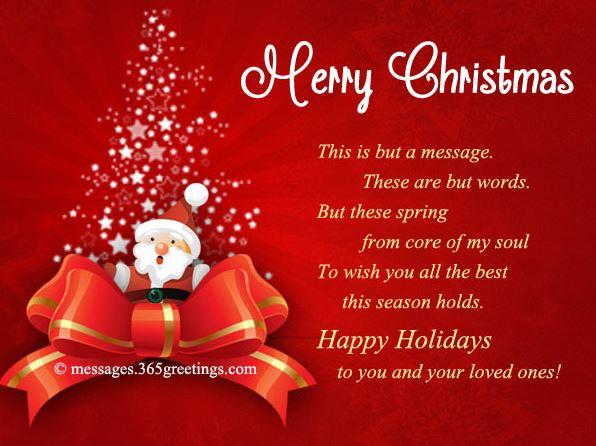 Christmas Greetings Sayings Quotes